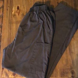 Brown Dickies Cargo Scrub Pants-Sz Large